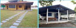 Casas temporada balneario Ponta do Papagai