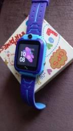 Relógio infantil inteligente novo gps ,mensagem, telefone, chat