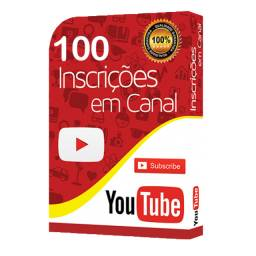 100 Inscritos Youtube + Brinde