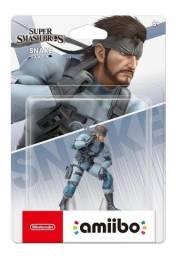 Boneco Amiibo Super Smash Bros Snake