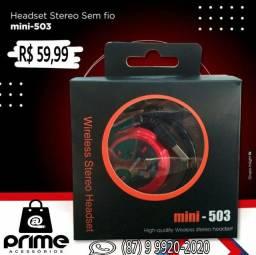 Fone Bluetooth Mini 503 TF
