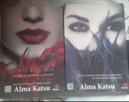 Kit 2 livros usados - Ladrão de almas & Refém da obsessão