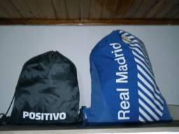 Kit 2 mochilas novas originais Unissex
