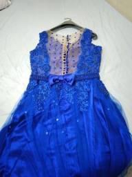 Vestido para eventos semi novo f. * zap R$350,00