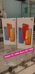 Redmi 9C 64Gb Novo
