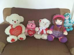 Urso e boneca de pano, lindos
