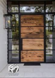 Porta estilo industrial