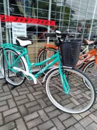 Bicicleta retrô feminina aro 26