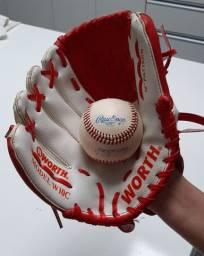 Luva e bola de Baseball oficiais Liga Canadense