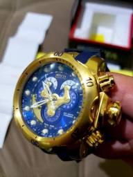 Invicta Reserve Venon 14465 Banhado ouro 18k