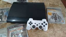 PS3 super slim, vendo ou troco por Xbox one