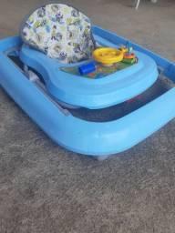 Andador infantil azul