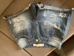 Shorts e calcas semi novos