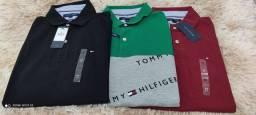 Combo Camisa Pólo Tommy Hilfiger Original