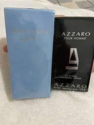 Perfumes importados dolce gabbana 50ml e azarro 50ml original