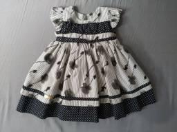 Vestido bebê 3 a 6 meses