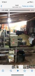 Máquina de extração de óleo e farelos