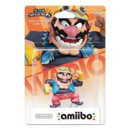 Boneco Amiibo Super Smash Bros Wario