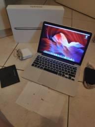 Aceito Trocas - Macbook Pro 13 Retina, i5 4Gb video 1,5Gb 256 Ssd Ótimo estado! Ac Cartão!