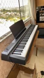 Piano Digital Yamaha P-125b De 88 Teclas Com Fonte Bivolt