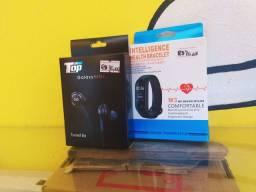 Fone AKG + Smartband M3 NOVO