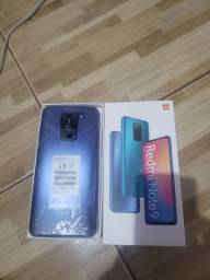 Xiaomi Redmi Note 9 128GB 4GB RAM R$ 1.500,00.