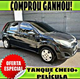 TANQUE CHEIO SO NA EMPORIUM CAR!!! FORD FIESTA 1.0 ANO 2014 COM MIL DE ENTRADA