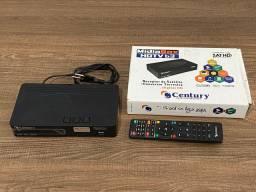 Receptor antena parabólica Century MidiaBox HDTV b3