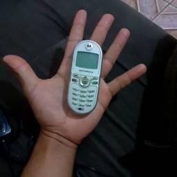 celular Motorola analógico mini