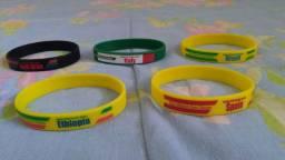 Souvenir Coca cola olimpíadas bracelete