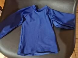 Camiseta Puket Uv lycra Praia Piscina bebê  menino 6a9m