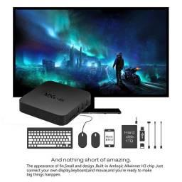 BlackCubo Android 9 2GB Ram 16GB Rom Transforma sua tv em Super Smart tv