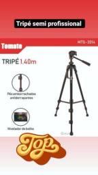 Título do anúncio: Tripé Profissional Câmera Celular Universal Tomate atè 1,40m<br>