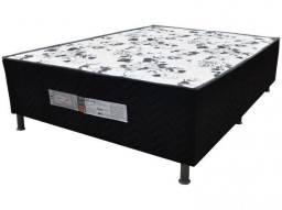 Hiper saldão - cama box casal conjugada - nova e embalada - suporta 100 kg cada lado