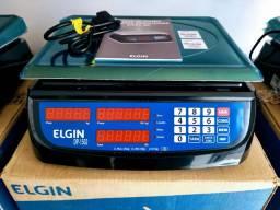 Balança Elgin Nacional 15 Kg. Bateria / Nova na Caixa / Autorizada Inmetro
