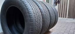04 Pneus de Camionete Aro 18 265/60/18 Michelin