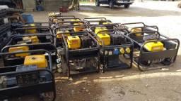 Geradores a gasolina Lote com 20 uni