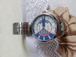 Relógio Seculus Cronógrafo com Data