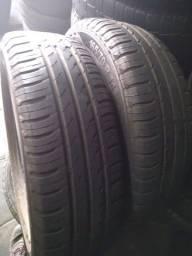 Vendo pneu continental 165 70 14 filé