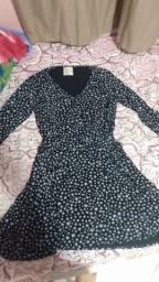 Vestido de manga comprida