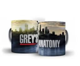 Caneca Personalizada Séries (Grey's Anatomy, Lost, Grimm, L.C.Papel)