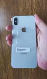 IPhone XS 64 Gigas Silver(Excelente completo)último em 10x no cartão