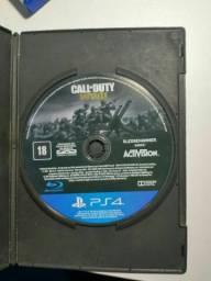 Título do anúncio: Call of Duty WWII (Ps4)