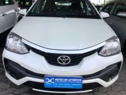 Toyota ETIOS 1.5 X 2018 Automático impecável 8.000 KM
