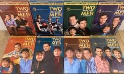 DVD Two And A Half Men- 1-2-3-4-5-6-7-8 Temporadas/28 Discos
