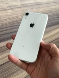 iPhone XR 64GB Branco - Até 18x no cartão! Saúde da bateria 90% 64 GB