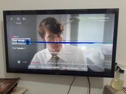 TV Samsung 32' c/ defeito na tela