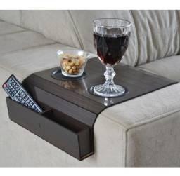 Suporte para braçadeira de sofá - porta copos