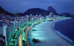 Aluguel de apartamento de temporada em Copacabana  com vista para a praia.