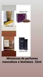 Perfumes miniaturas